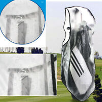Portable Waterproof Golf Bag Backpack Sack Rain Cover Zipper Coating