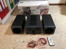 Yamaha Mini Hifi Anlage Micro Component System MCR-040 Schwarz