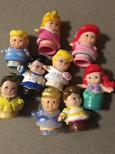 Little People Disney Princesses and Prince Lot