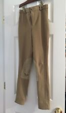 Youth Tuffrider tan breeches size 12
