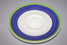 Rosenthal CASUAL Designers Guild UNTERTELLER 16,5 cm blau grün Untertasse
