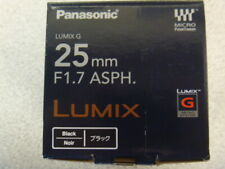 Panasonic Lumix H-H025 25MM Lens (Black)