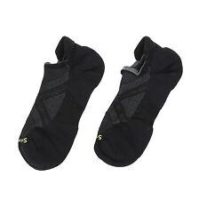 Smartwool Unisex PhD Run Light Elite Micro Sock in Black 0522 Size M
