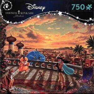 Ceaco Puzzle Dreams - Jasmine Dancing in the Desert Sunset New