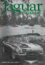 1989 JAN 51704 Jaguar Enthusiast Magazine Cover Picture   DAYS OF SUMMER