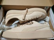 PUMA Womens Basket Platform Patent Fashion Sneaker - 9.5 US