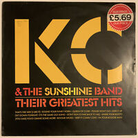 KC AND THE SUNSHINE BAND GREATEST HITS LP EPIC UK 1983 NEAR MINT PRO CLEANED