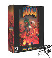 Limited Run 395 DOOM The Classics Collection Collector's Edition PlayStation PS4