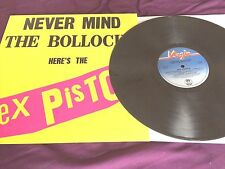 Sex Pistols ‎– Never Mind The Bollocks DARK GREY MARBLE VINYL re LP virgin