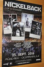 Nickelback Tourplakat/Tourposter 2016 -  Olympiahalle München