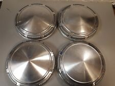 4 MOPAR DOG DISH HUBCAPS DODGE HEMI CUDA CHALLENGER CHARGER POVERTY CAPS 9 INCH