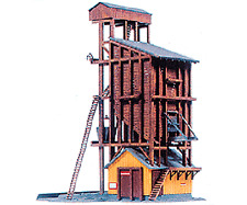 410 Coaling Tower kit HO/HOn3 by Model Power (SUPER SALE 50% OFF)