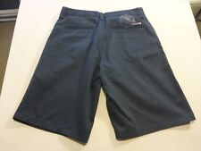 037 BOYS EX-COND QUIKSILVER S/POCKETS LOOSE FIT BLK CASUAL SHORTS 16 $70 RRP.