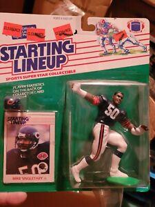 Mike Singletary 1st year 1988 Kenner Starting Lineup Chicago Bears Football SLU