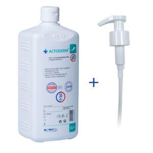Actoderm® 1L Haut- u.Handantiseptikum,Händedesinfektion, 2-Propanol 70% alkohol