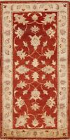 2'x5' Traditional Floral Peshawar Oriental Area Rug Hand-knotted Wool Home Decor