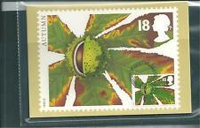 wbc. - GB - PHQ CARDS - 1993 - AUTUMN FRUITS - FRONT - FDI/SHS - COMP SET