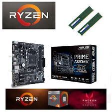Bundle AMD Ryzen 3 2200G 4x3,70GHz+8GB DDR4+USB3.1/ ASUS Mainboard / VEGA 8 HDMI
