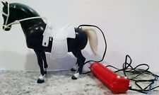 1972 Mego Action Jackson Wild Mustang Battery Op Horse RARE Vintage WORKING
