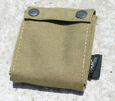 AIRSOFT OPS CORE TACTICAL HELMET COUNTER WEIGHT BAG POUCH TAN SAND DE UK