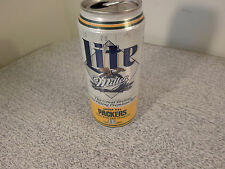 16 OZ Miller Lite GREEN BAY PACKERS Super Bowl XXXI Beer Can NFL Football b