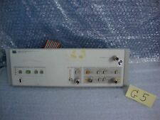 Hp Agilent 85685a Rf Preselector 20hz 2ghz Front Panel Only