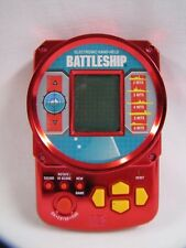 Battleship Electronic Game Metallic Red Milton Bradley #4633 1995