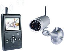 drahtlos Echtzeit Funk Kamera Mikrofon Baby Überwachungskamera Empfänger Ton