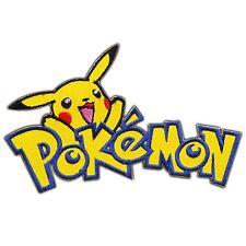 Pokemon Cartoon Pikachu Go Poke Ball Game Movie Monster Iron on Patches #0915