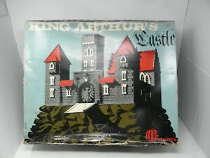 Boxed King Arthurs Castle by BIG Plastik No 53 - Original Box 1965