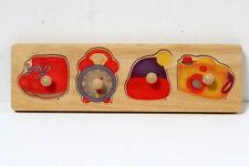 Puzzle à encastrer 1er âge Plan Toys.