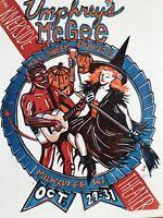Umphrey's McGee - 2015 Jim Pollock poster Milwaukee, Riverside Theatre, WI
