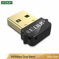 EDUP Dual Band AC650M Mini USB Wifi Adapter Wireless Network Card for PC Mac