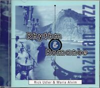 Rick Udler & Maria Alvim - Rhythm & Romance (1996 CD) Brazilian Jazz/Bossa Nova