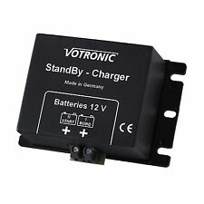2A 12V DC to DC battery to battery trickle charger for motorhome boat caravan RV