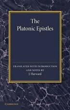 The Platonic Epistles: Translated with Introduction and Notes-ExLibrary