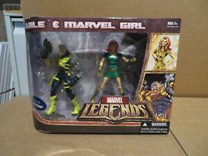Hasbro Marvel Legends 2 Pack Cable & Marvel Girl 2007 Sealed