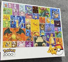 Pokemon Characters 2000 Piece Jigsaw Puzzle Pikachu Buffalo Games New