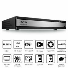 ZOSI H.265+ 16Channel 1080N TVI HD Surveillance CCTV DVR security camera system