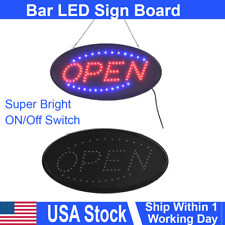Led Open Sign Flashing Display Billboard Bright Advertising Board Light Bright