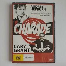 Charade (DVD, 1963) Region Free / All Regions (Audrey Hepburn, Cary Grant) Color