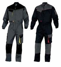 Delta Plus Mens Work Overalls Boiler Suit Coverall Mechanics (DMCOM)