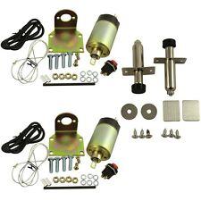 New 65lb solenoid shaved door kit hot rod rat rod complete with 2 door poppers