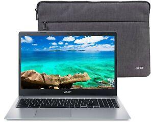 "🔥 NEW Acer Chromebook 15.6"" HD Intel N4000 4GB Ram 32GB SSD + Free Sleeve! 🔥"