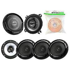 """6.5"""" 300W Kenwood Speakers, 4"""" Kenwood 2-Way Speakers, 50FT 18G Of Speaker Wire"""