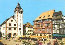 AK, Mosbach Neckar, Marktplatz mit Rathaus, 1983