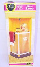 "Pedigree England SINDY 12"" Doll Large LUXURY SHOWER + TOWL Working MIB`70 RARE!"