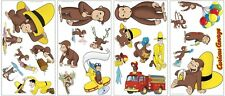 CURIOUS GEORGE WALL DECALS 24 New Monkey Stickers Monkeys Bedroom Decorations