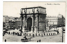 Porte D'Aix - Marseille Photo Postcard c1905