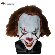 IT Mask Clown Halloween Costume Scary Movie Killer Clown